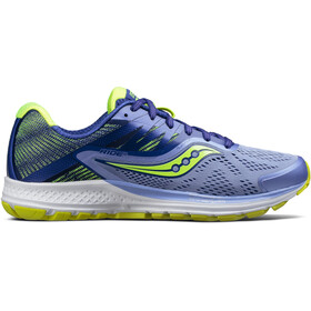 saucony Ride 10 Running Shoes Women purple/blue/citron